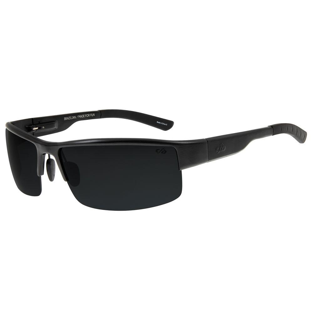 Óculos de Sol Masculino Chilli Beans Esportivo Preto Polarizado OC.AL.0151-0101