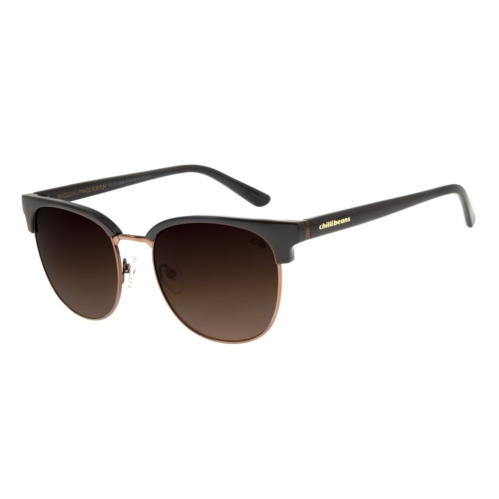Óculos De Sol Feminino Chilli Beans Jazz Classic Marrom OC.CL.2948-5702