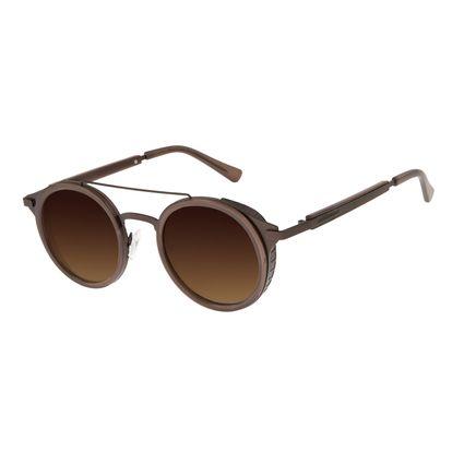 Óculos De Sol Unissex Alok Icônico 2.0 Marrom Escuro OC.CL.2965-5747