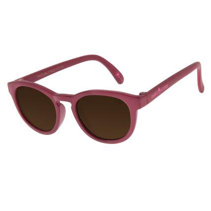 Óculos de Sol Infantil Chilli Beans Candy Lovers Vinho OC.KD.0607-0217