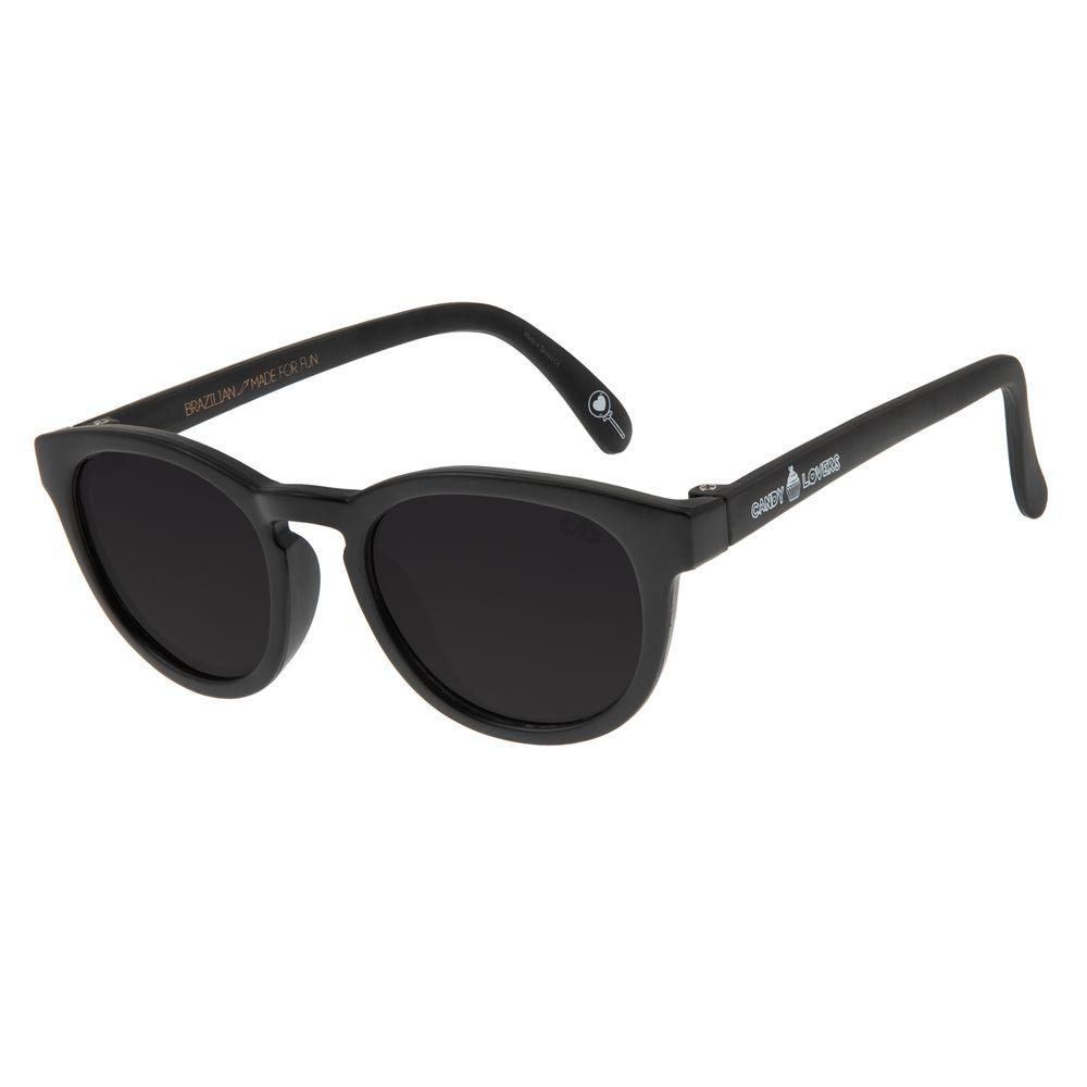 Óculos de Sol Infantil Chilli Beans Candy Lovers Preto OC.KD.0607-0101