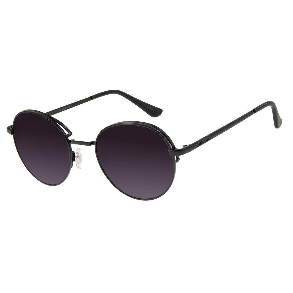 Óculos de Sol Feminino Chilli Beans Redondo Flap Degradê OC.MT.2583-2001