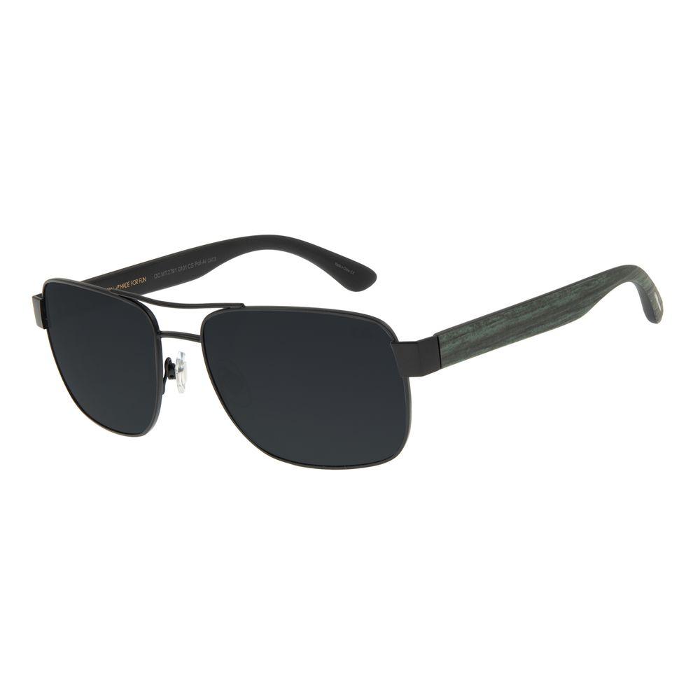 Óculos de Sol Masculino Chilli Beans Executivo Preto Polarizado OC.MT.2791-0101