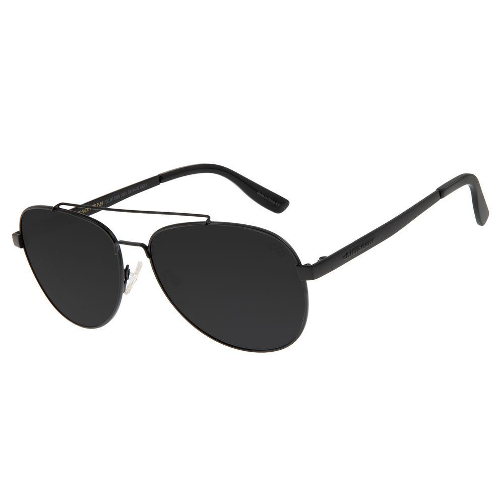Óculos de Sol Unissex Chilli Beans Aviador Metal Preto OC.MT.2828-2001