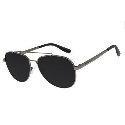 Óculos de Sol Unissex Chilli Beans Aviador Metal ÔnixOC.MT.2828-2022