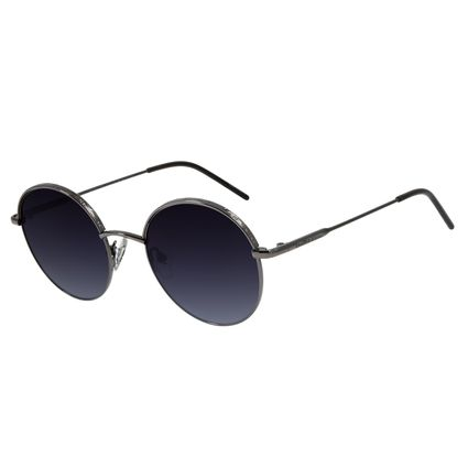 Óculos de Sol Feminino Chilli Beans Redondo Ônix Metal OC.MT.2762-2022