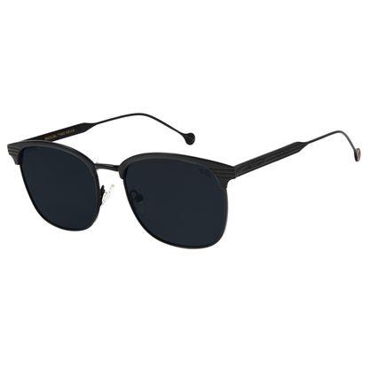 Óculos de Masculino Chilli Beans Jazz Metal Preto Polarizado OC.MT.2211-0101