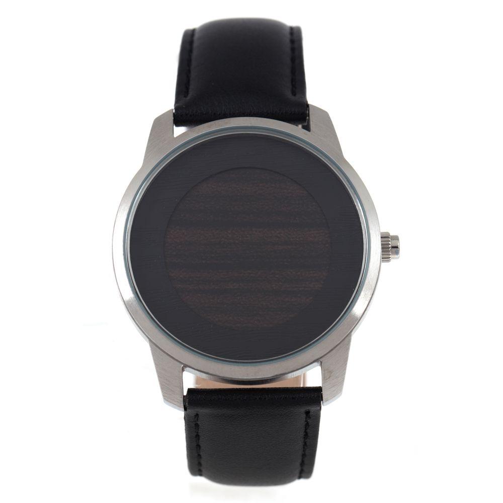Relógio Digital Masculino Chilli Beans Wood Prata RE.CR.0382-0701