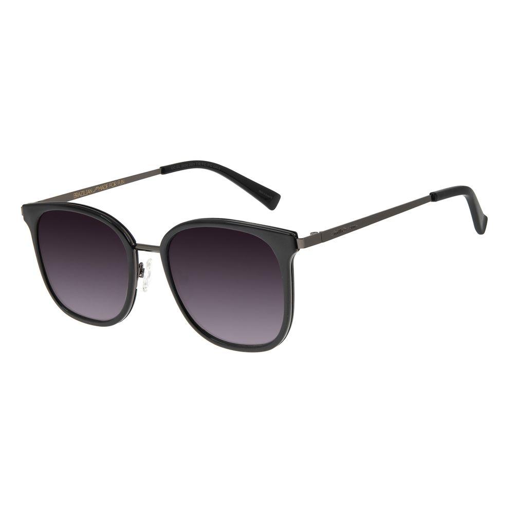 Óculos de Sol Feminino Chilli Beans Quadrado Preto Basic OC.CL.2930-2001