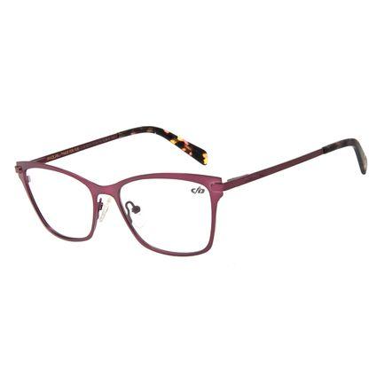 Armação Para Óculos de Grau Feminino Chilli Beans Metal Roxo LV.MT.0314-1414