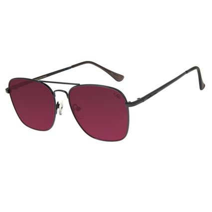 Óculos De Sol Masculino Chilli Beans Clássico Executivo Vermelho OC.MT.2712-1601