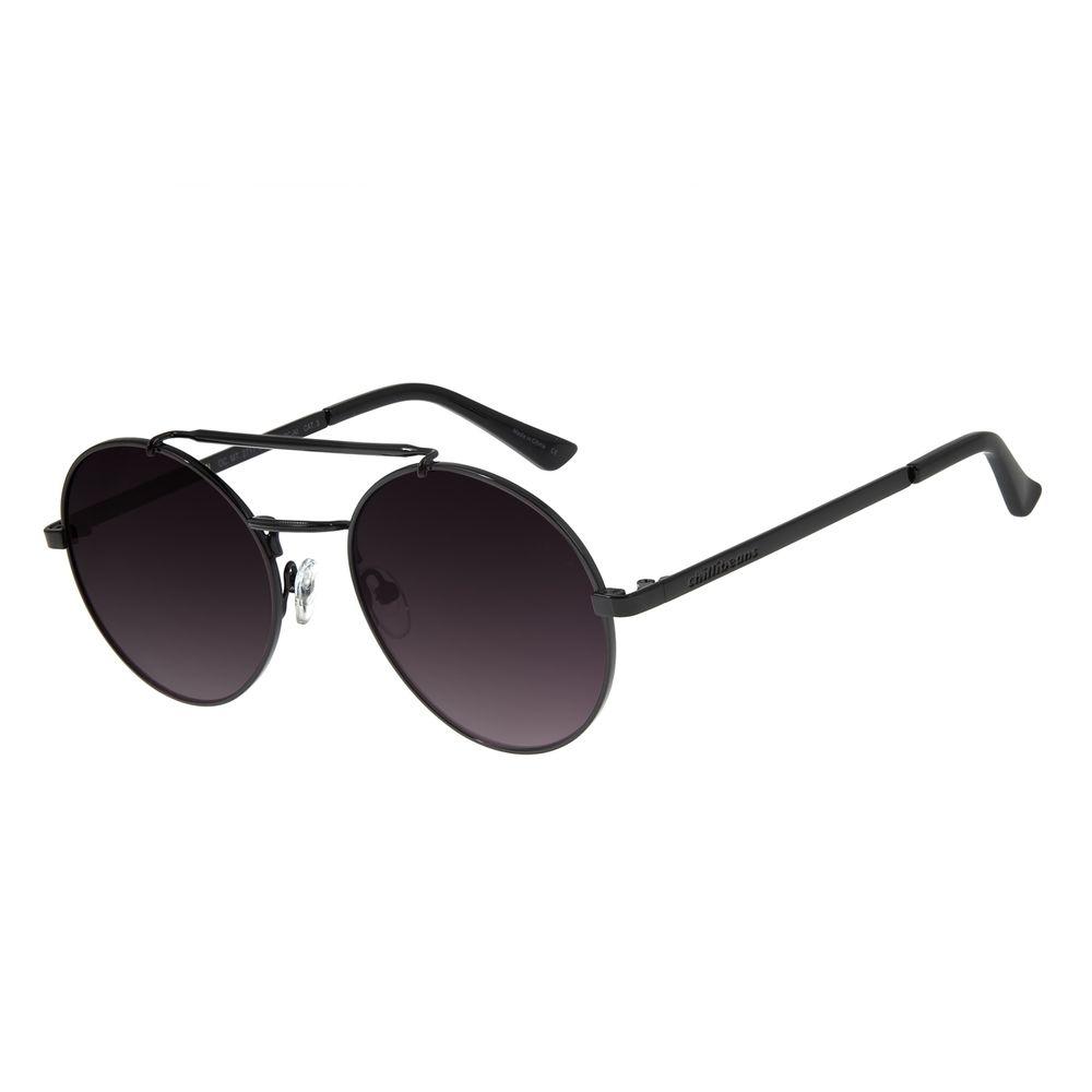 Óculos de Sol Feminino Chilli Beans Redondo Preto OC.MT.2717-2001