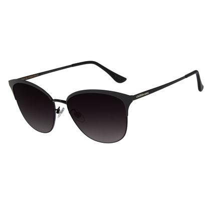 Óculos de Feminino Chilli Beans Quadrado Metal Preto OC.MT.2719-2001