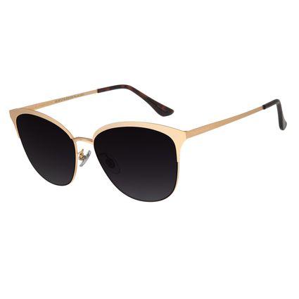 Óculos de Feminino Chilli Beans Quadrado Metal Dourado OC.MT.2719-5721
