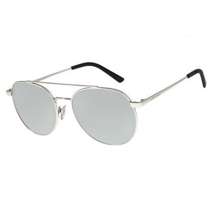 Óculos De Sol Feminino Chilli Beans Redondo Espelhado Polarizado OC.MT.2726-3207