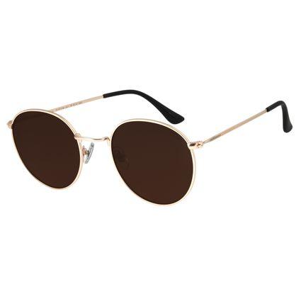 Óculos de Sol Unissex Chilli Beans Classic Dourado OC.MT.2748-0221