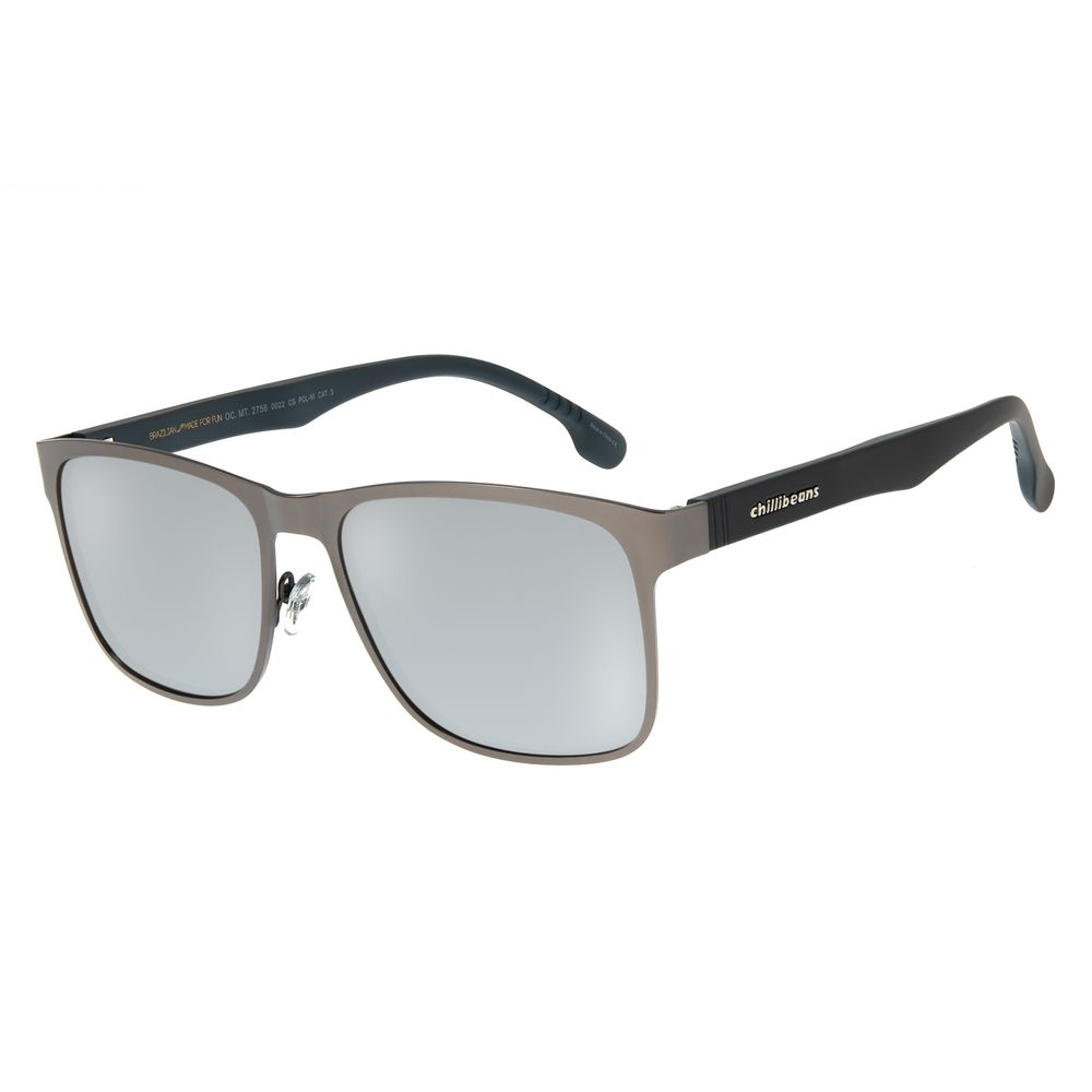 Óculos de Sol Masculino Chilli Beans Ônix Polarizado OC.MT.2756-0022