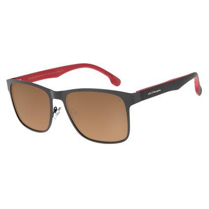 Óculos de Sol Masculino Chilli Beans Marrom Polarizado OC.MT.2756-0201
