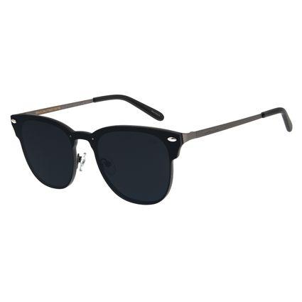 Óculos de Sol Masculino Chilli Beans Redondo Ônix OC.MT.2757-0122