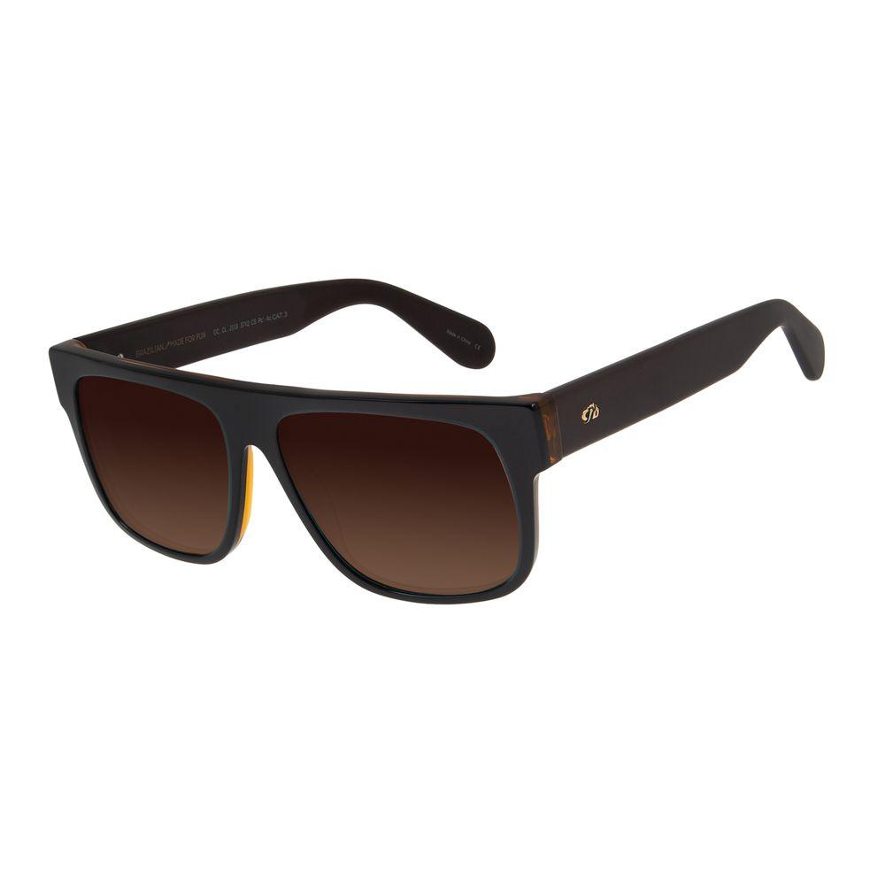 Óculos de Sol Masculino Chilli Beans Marrom Polarizado OC.CL.2519-5702
