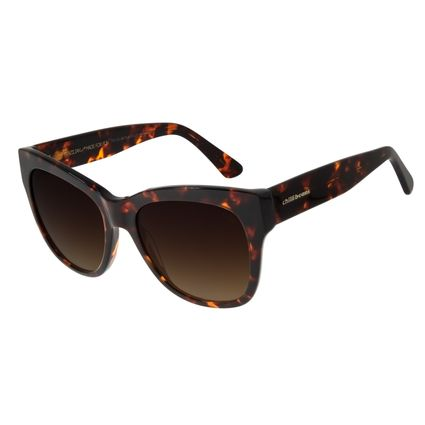 Óculos de Sol Feminino Chilli Beans Quadrado Basic Tartaruga OC.CL.2976-5706