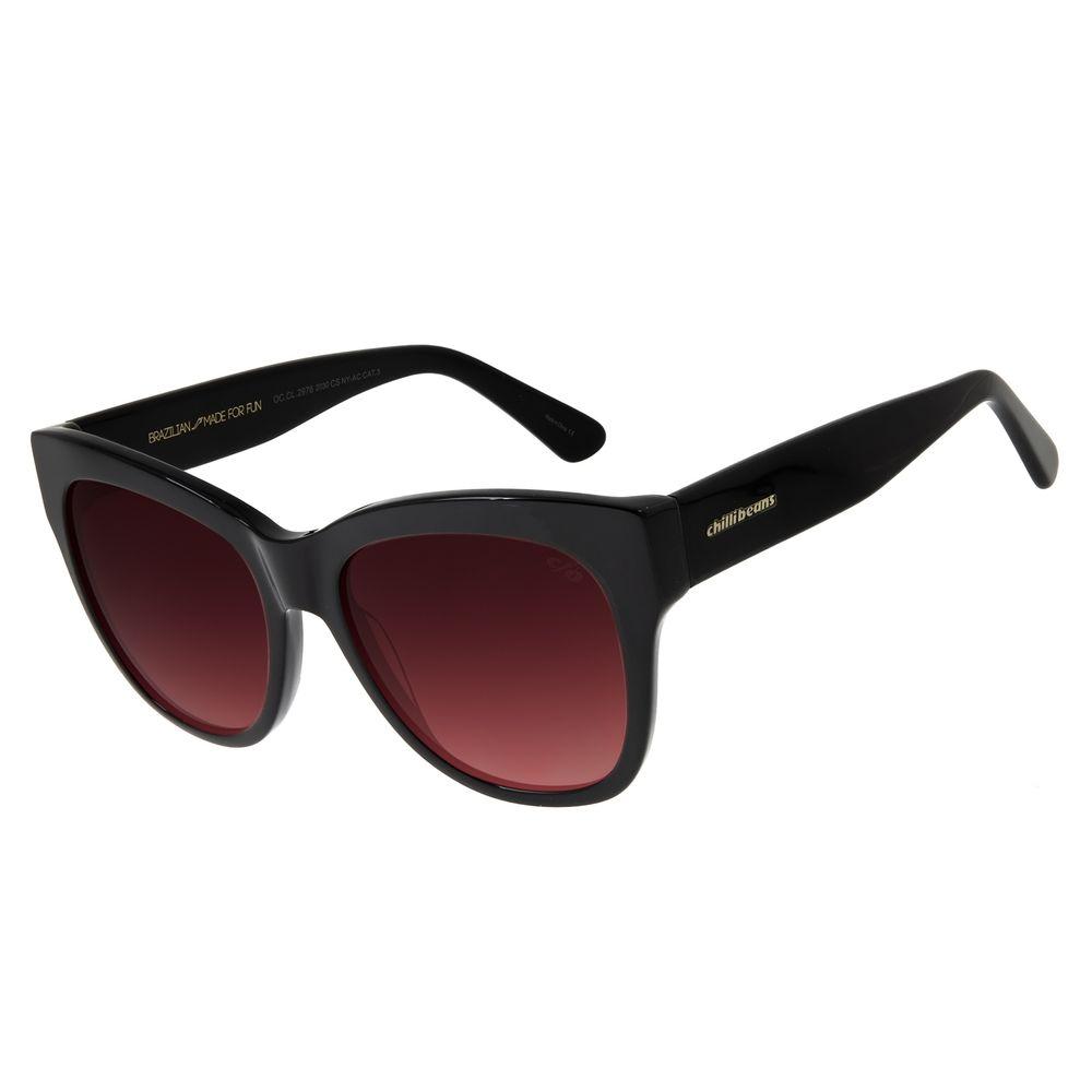 Óculos de Sol Feminino Chilli Beans Quadrado Basic Degradê OC.CL.2976-2030