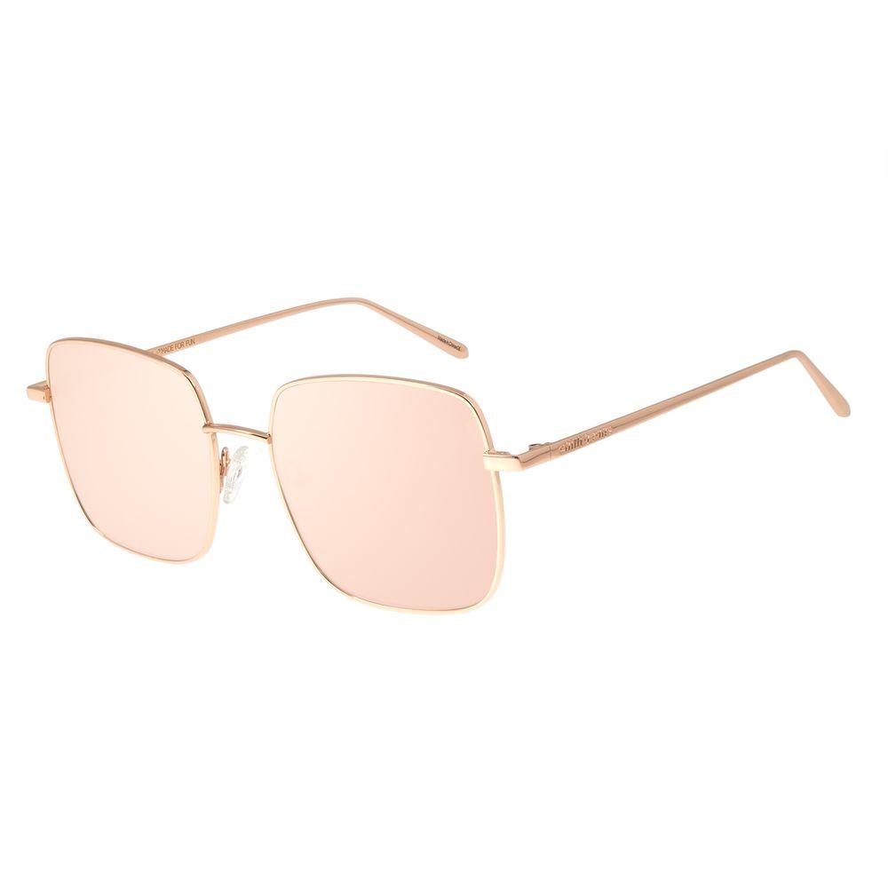 Óculos de Sol Feminino Chilli Beans Banhado A Ouro Degradê Rosa OC.MT.2573-1395