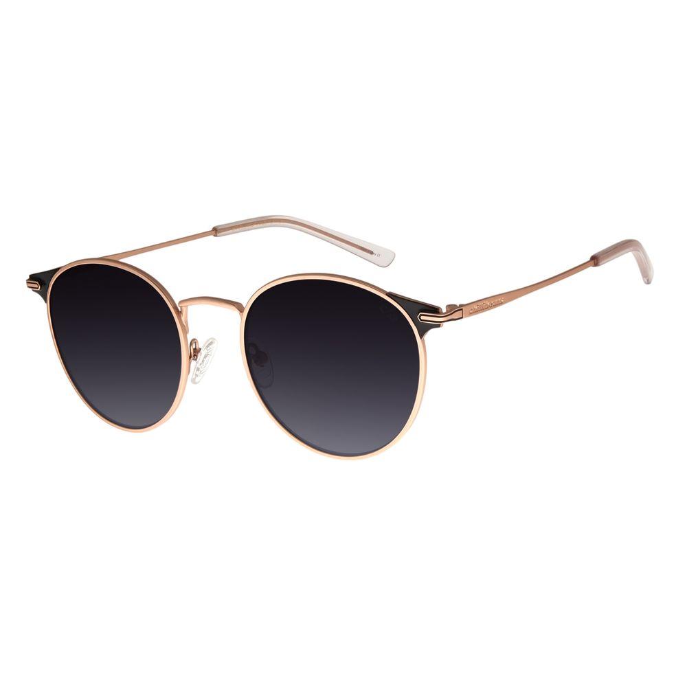 Óculos de Sol Feminino Chilli Bea Banhado A Ouro Rosê OC.MT.2735-2095