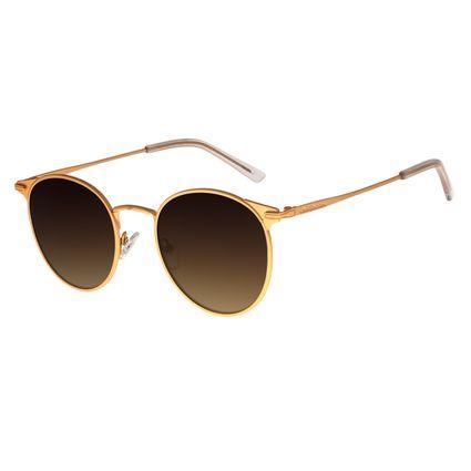 Óculos de Sol Feminino Chilli Beans Banhado A Ouro Dourado OC.MT.2735-5721