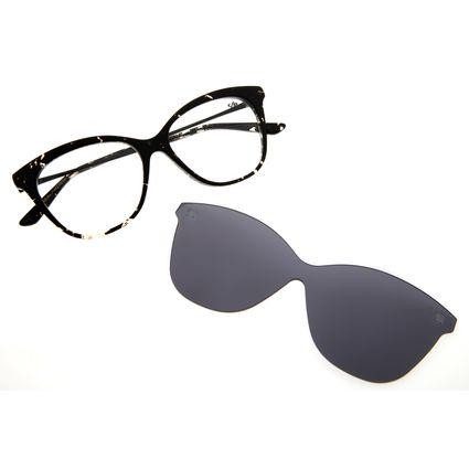 Armação Para Óculos de Grau Feminino Chilli Beans Multi Cat Mescla LV.MU.0156-0465