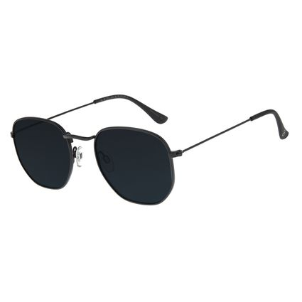 Óculos De Sol Feminino Chilli Beans Metal Preto OC.MT.2713-0101