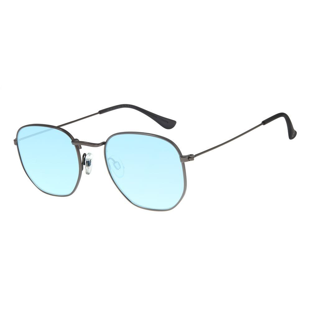 Óculos De Sol Unissex Chilli Beans Metal Azul OC.MT.2713-0822