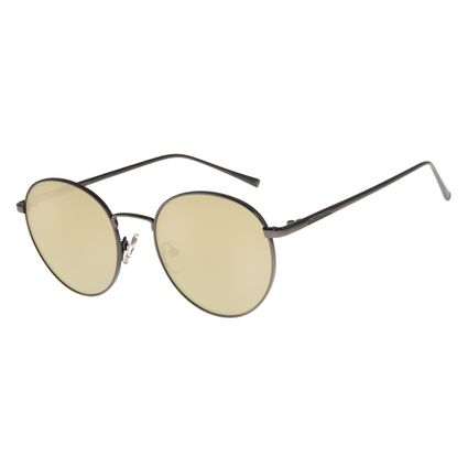 Óculos de Sol Unissex Chilli Beans Redondo Flash Polarizado OC.MT.2736-0022
