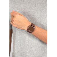 Relógio Digital Masculino Chilli Beans Couro Fosco Marrom RE.CR.0422-0202.4