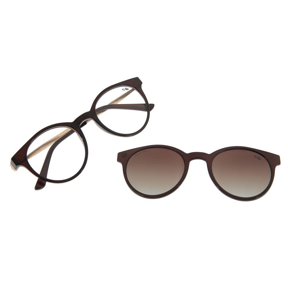 Armação Para Óculos de Grau Masculino Chilli Beans Multi Preto LV.MU.0254-2001