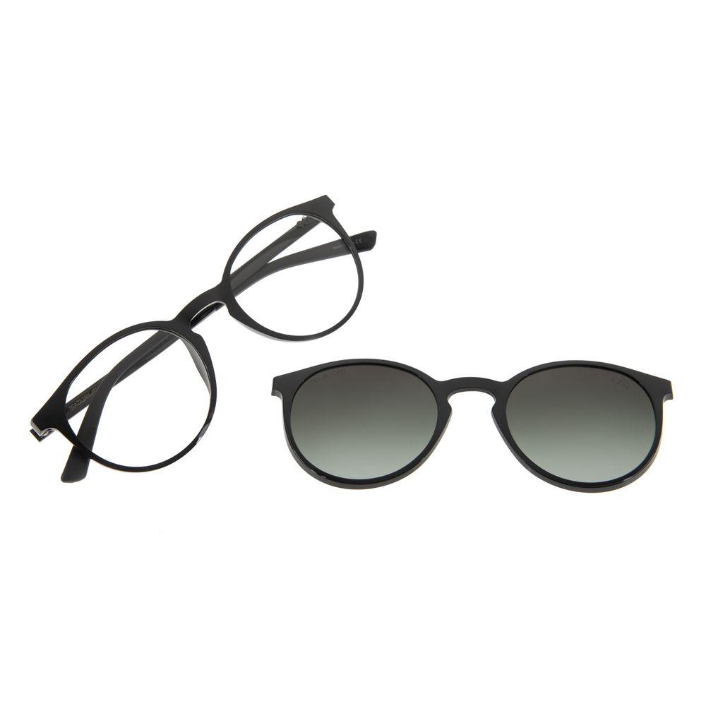 Armação Para Óculos de Grau Feminino Multi Preto Polarizado LV.MU.0308-2001