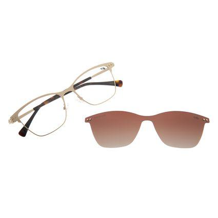 Armação Para Óculos de Grau Feminino Chilli Beans Multi Dourado Polarizado LV.MU.0309-2021