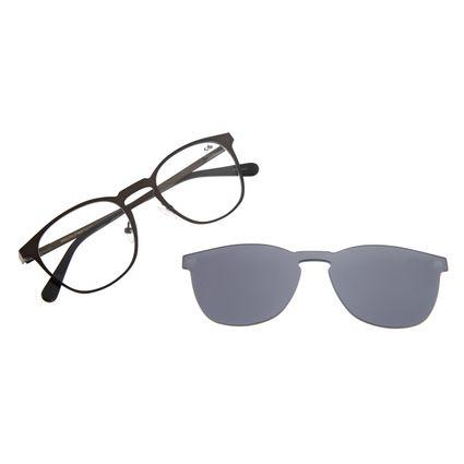 Armação Para Óculos De Grau Unissex Chilli Beans Multi Marrom LV.MU.0241-0402