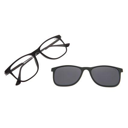 Armação Para Óculos de Grau Masculino Chilli Beans Multi Polarizado Preto LV.MU.0218-0101
