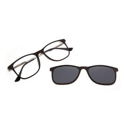 Armação Para Óculos de Grau Masculino Chilli Beans Multi Polarizado GrafiteLV.MU.0218-0224