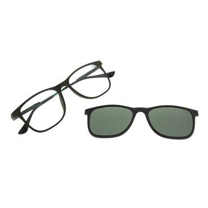 Armação Para Óculos de Grau Masculino Chilli Beans Multi Polarizado Verde Escuro LV.MU.0218-2626