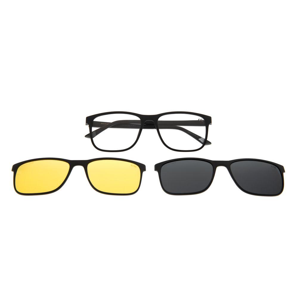 Armação Para Óculos De Grau Chilli Beans Multi Em Dobro Night Vision Fosco LV.MU.0340-3131