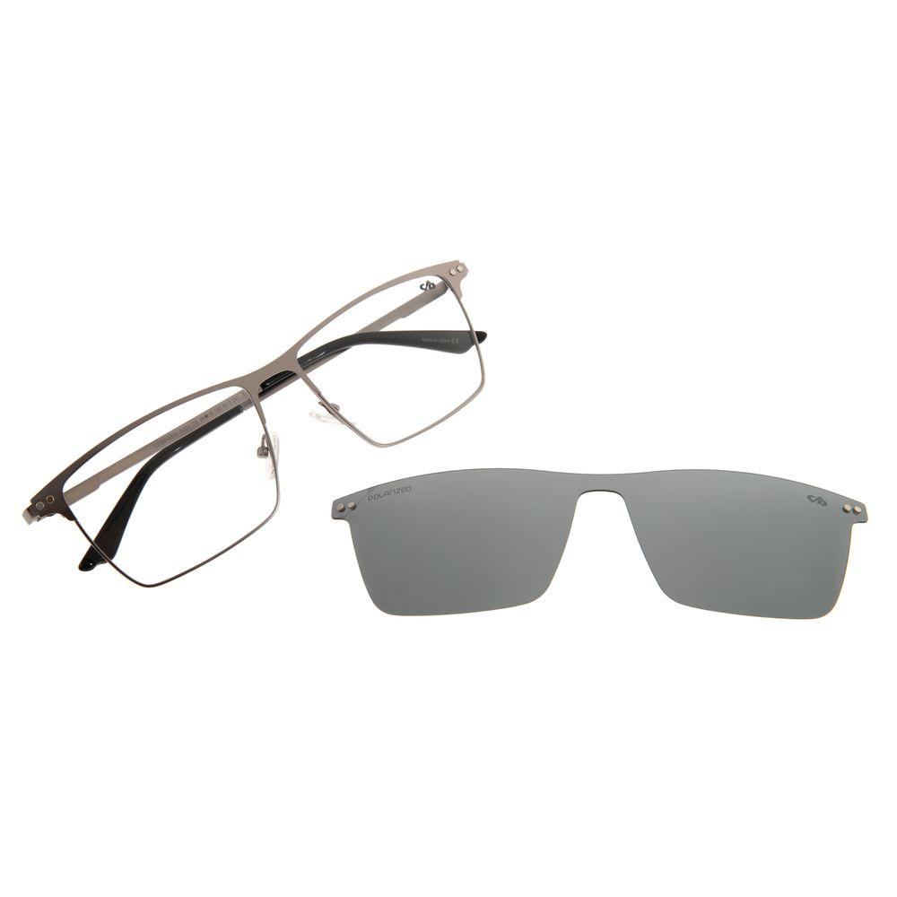 Armação Para Óculos De Grau Masculino Chilli Beans Multi Grafite Polarizado LV.MU.0324-0024