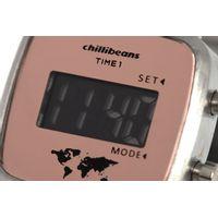 Relógio Double Dial Feminino Chilli Beans Traveler Prata RE.MT.0954-0107.5