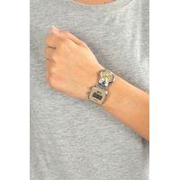 Relógio Double Dial Feminino Chilli Beans Traveler Prata RE.MT.0954-2107.4