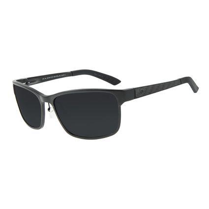 Óculos de Sol Masculino Chilli Beans Esportivo Preto Polarizado OC.AL.0238-0101