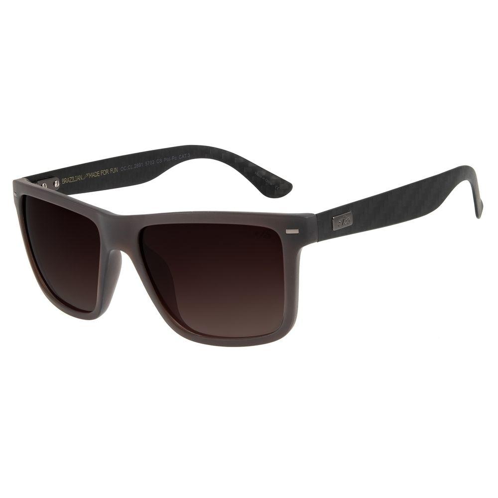 Óculos de Sol Masculino Chilli Beans Bossa Nova Marrom OC.CL.2891-5702