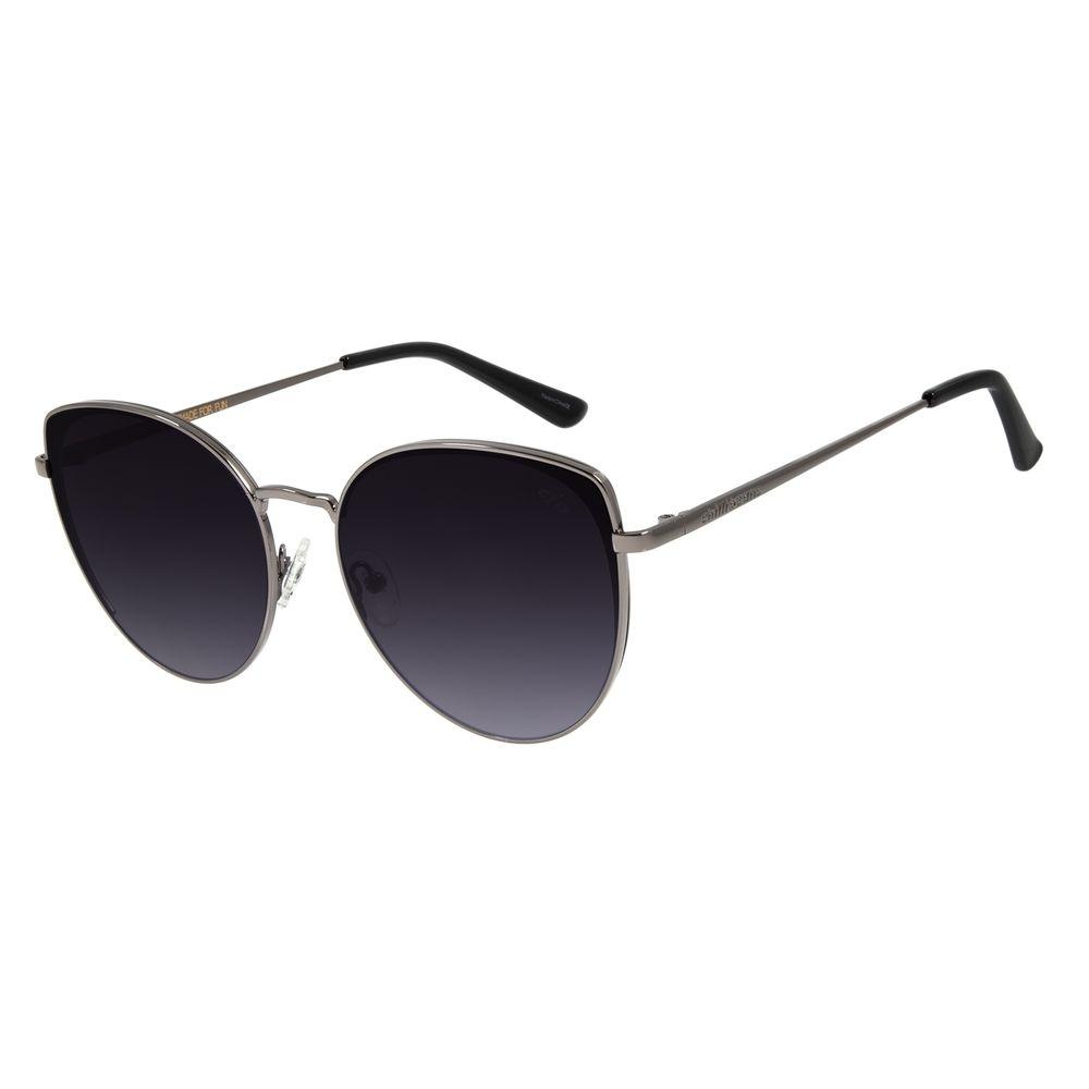 Óculos de Sol Feminino Chilli Beans Redondo Ônix OC.MT.2830-2022