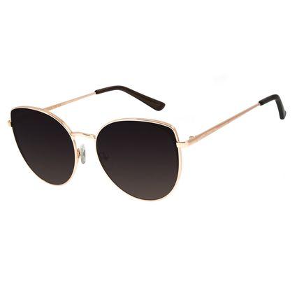 Óculos de Sol Feminino Chilli Beans Redondo Rosê OC.MT.2830-2095