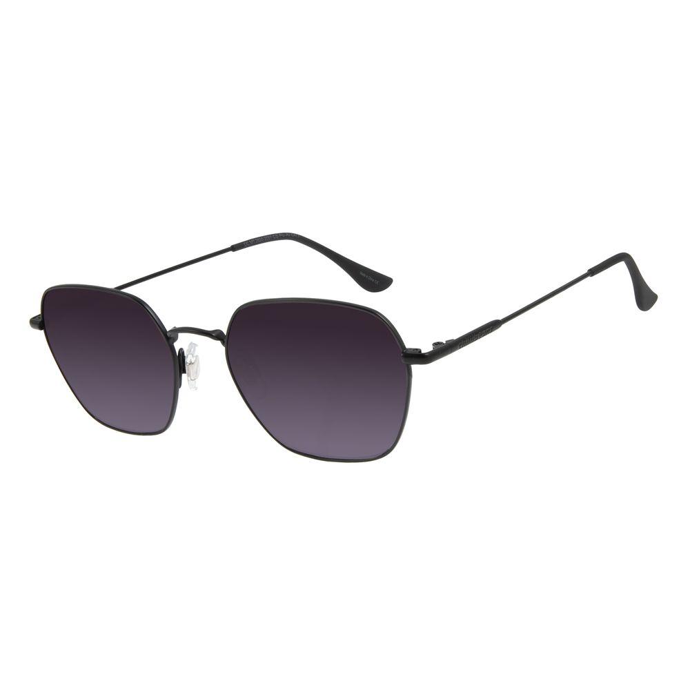 Óculos de Sol Unissex Chilli Beans Redondo Preto OC.MT.2835-2001